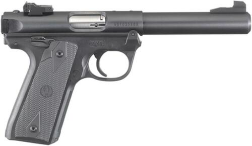 "Ruger Mark IV 22 LR, 5.5"" Barrel, Black Synthetic Grip, 10rd"