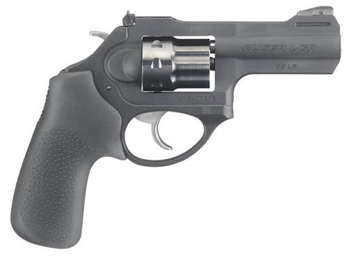 "Ruger LCRx Single/Double 22 LR (LR) 3"" 8 rd Black Hogue Tamer"