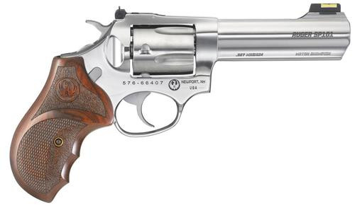 "Ruger SP101 Match Champion .357 Magnum/.38 Special 4"" SS Barrel Fiber Optic Front Sight 5 Round"