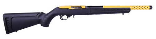 "Ruger 10/22 Takedown Lite 22LR 16"" Barrel, Yellow Tension Sleeve 10rd Mag"