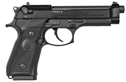 """Beretta M9a1-22 22lr Bl/blk 5.3""""Barrel, 10rd"""