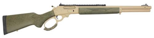 "Marlin 1895 SBL Modern Lever Hunter MLH 45-70 18"" Magna-Ported Barrel, Cerakote Tan Metal, OD Green Stock, XS Ghost Ring Sight"