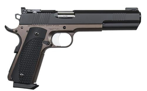 "Dan Wesson Bruin 10mm, 6.3"", 8rd, Bronze Finish, Wood Grip, Adjustable Tritium/Fiber Optic Sights"