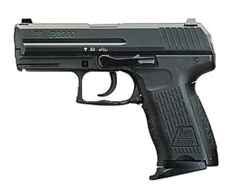 """HK P2000 V3 *CA/MA Compliant* SA/DA 9mm 3.66"""" Barrel, 2 Mags 3-Dot Decoc, 10rd"""