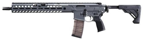 "Sig MCX Virtus Patrol Rifle, .223/5.56, 16"" Barrel, Gray/Black, 30rd Mag"