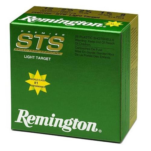 "Remington Lead Premier STS 12 Ga, 2.75"", 7.5 Shot, 1-1/8oz, 1145 FPS, 25rd/Box"