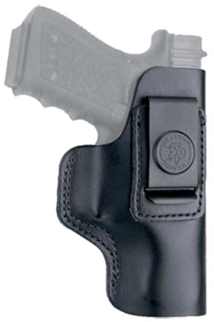 DeSantis Gunhide, 031, The Insider, Inside the Pants Holster, Fits Ber 92F, S&W 5906, Right Hand, Black Leather