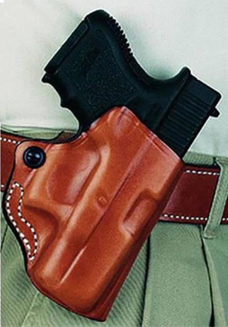 Desantis Mini Scabbard Glock 17/19/23/32/36 Leather Black