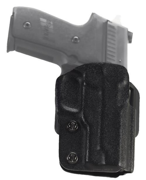 """Galco Stryker Springfield XD/XD Mod.2, 9/40 3"""", Black, RH"""