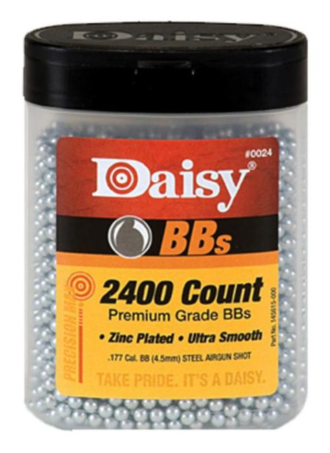 Daisy .177 BB, Bottle, 2400 Per Bottle