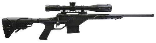 "Savage 10BA Stealth .308 20"" Threaded Barrel Monolithic Chassis Fab Defense GL-Shock Stock 10rd Mag"