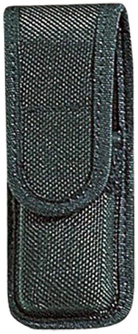 """Bianchi Single Mag Pouch 7303 Up to 2.25"""" Belt Black Accumold Trilaminate, Fits Beretta 92/96s/8000/8040, Browning Hi-Power, HKP7-M13"""
