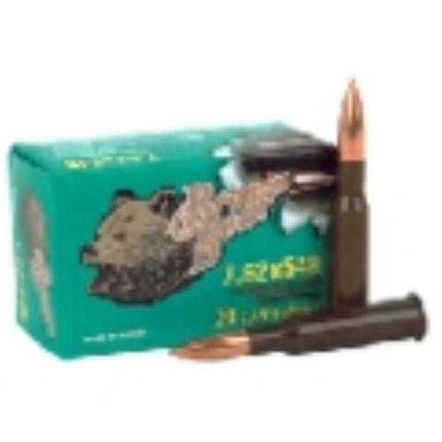 Brown Bear 7.62X54R, 174Gr, Full Metal Jacket, 20, 500