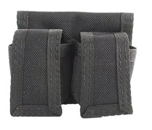 """HKS Speedloader Case Large, Fits up to 2.75"""" Belts Black Dupont Hytrel,"""
