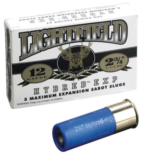 "Lightfield Hybrid Express Commander 12 ga 2.75"" 1-1/4oz Slug Shot 5Box"