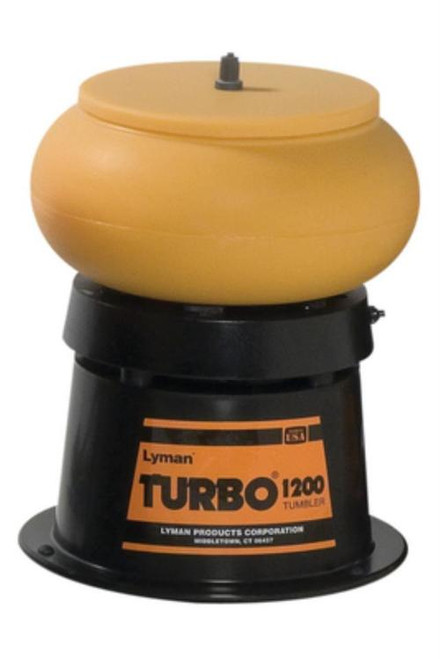 "Lyman 1200 Classic Turbo Case Tumbler, Media 10"" Bowl"