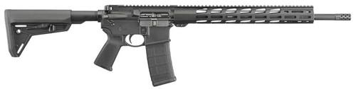 """Ruger AR-556 MPR 5.56 NATO/.223 18"""" Barrel15"""" M-LOK Free Float HG 30rd Mag"""