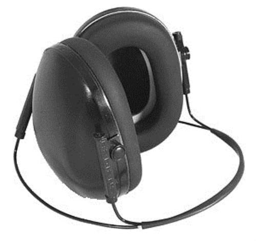 Radians Lowset BTH Earmuff 19dB NRR Black