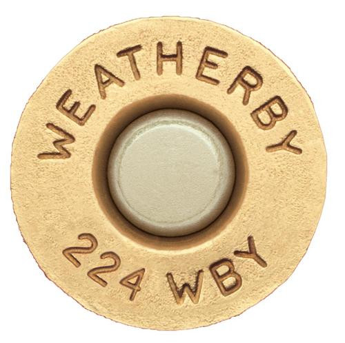 Weatherby Unprimed Brass 338-06 A Square Lightweight 20 Per Box