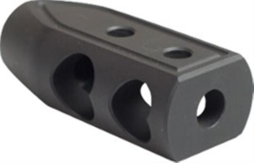 Timber Creek 223 Heart Breaker Muzzle Brake, Cerakote, Black