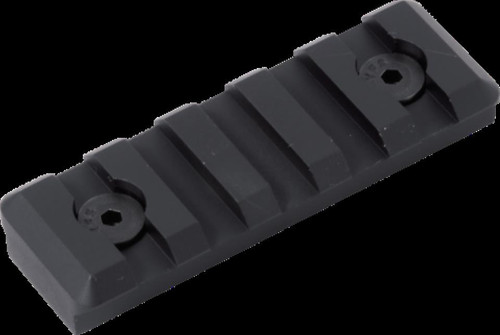 Timber Creek Keymod 5 Slot Picatinny Rail, Black Anodized