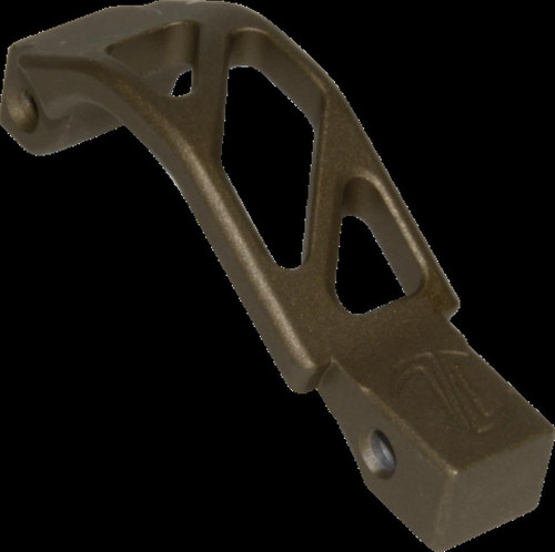 Timber Creek AR Oversized Trigger Guard, Burnt Bronze Cerakote