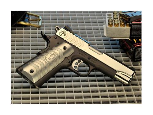 "RUGER SR1911 NAVY SPECIAL WARFARE PISTOL 9MM-4.25"" W/CRKT KNIFE (1 OF 500)"