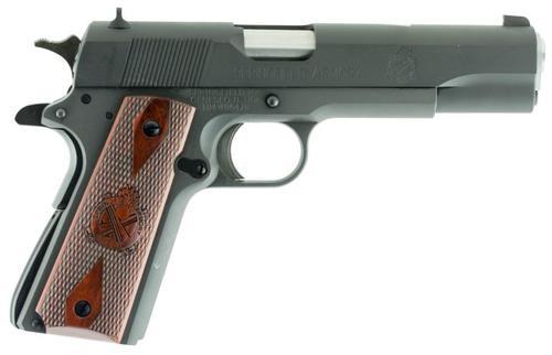 "Springfield 1911 45 ACP, 5"", Cocobolo Grip, Black Parkerized, 7rd"