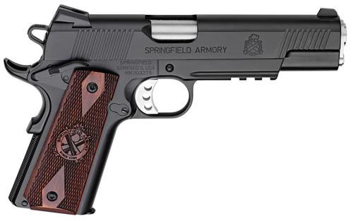 "Springfield 1911 45 ACP, 5"", 7rd, Cocbolo Grip, Black Armory Kote"