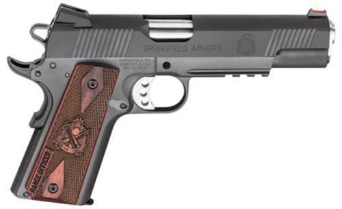 "Springfield Range Officer 45 ACP, 5"", 7rd, Cocobolo Grip, Black Parkerized"