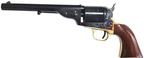 "Taylor's 1872 Open-Top Revolver, .45 Colt, 7.5"", 6rd, Walnut Navy Grips, Blued"