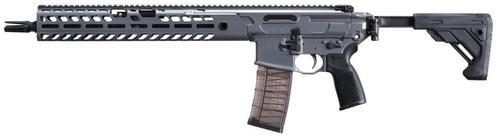 "Sig MCX Virtus Patrol 300 AAC Blackout, 16"" Barrel, Concrete Finish, Side Folding Stock M-LOK 30rd Mag"
