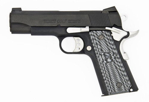"Colt 1911 Series 70 Custom LW Commander Carbon 45 ACP 4.25"" Barrel TALO 1 of 300"