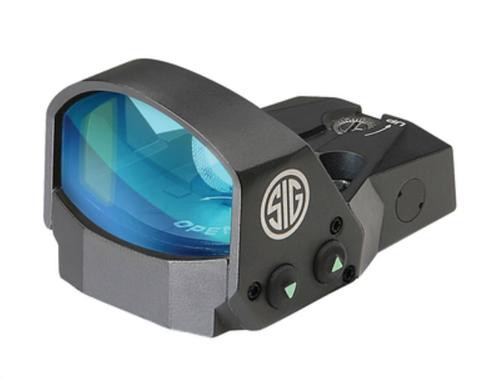 Sig Romeo1 Reflex Sight 1X30mm 3 MOA RED DOT 1.0 MOA Adjustable Handgun Adapter Pack Black