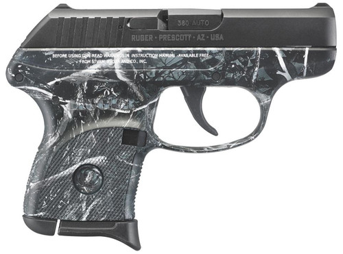 "Ruger LCP 380 ACP 2.75"" Barrel Moon Shine Harvest Camo Grip 6rd Mag"