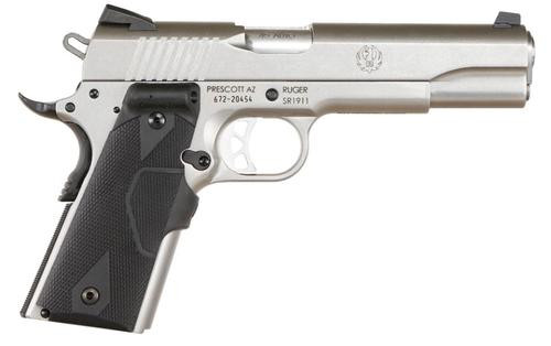 "Ruger SR1911 Single 45 ACP 5"" Barrel, Black Synthetic/, 8rd"
