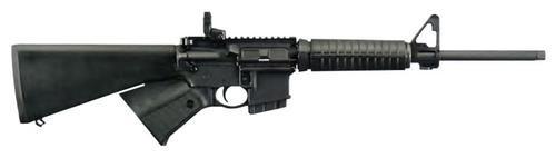 "Ruger AR-556 AR-15 5.56/223 16"" Barrel Rapid Deploy Rear SightFixed A2 Synthetic Stock, MonsterMan Grip 10rd Mag"