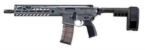 "Sig MCX Virtus Pistol .300 AAC Blackout 9"" Barrel M-LOK Folding Stabilizing Brace Gray 30rd Mag"