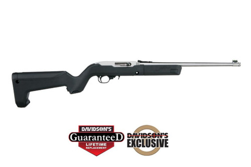 "Ruger 10/22 TD Backpacker SS 22LR 16"" Threaded Barrel Magpul X-22 Stock 10rd Mag"