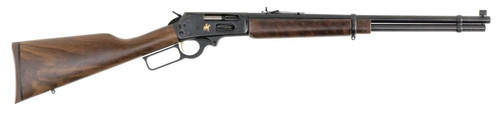Marlin 336TDL Texan Deluxe, Engraved Receiver, B Grade Walnut SG Stock, Blued, 6-Shot Tubular Mag, Marbles Sights,6rd