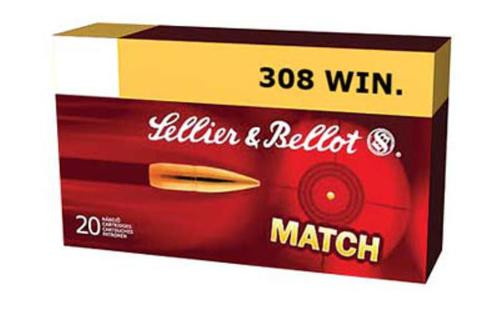 Sellier and Bellot 308 Winchester 200 HPBT - Subsonic, 20rd Box