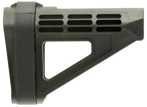SB Tactical, SBM4, Pistol Stabilizing Brace, Fits AR Pistol Buffer Tube, Black