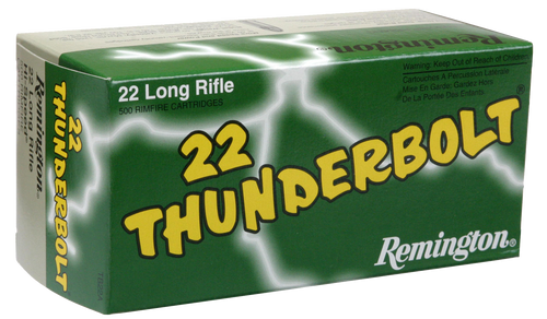 Remington Thunderbolt 22LR Round Nose 40gr, 50rd Box