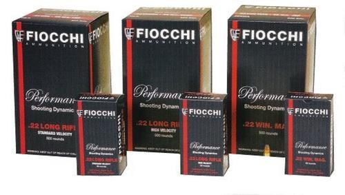 Fiocchi Super Match 22 LR 40gr, Round Nose, 50rd Box
