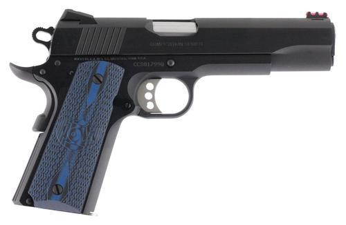 "Colt Competition Govt Series 70 45 ACP, 5"" Barrel, Steel Frame, Blue Finish, 8Rd Mag"