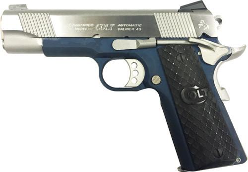 "Colt XSE Commander Lightweight 45 ACP 4.25"" Barrel, Double Diamond Rosewood, 8rd"