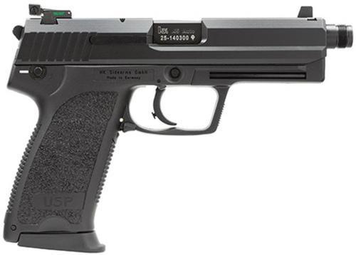 HK USP45 Tactical (V1) DA/SA, Safety/Decock On Left, Adjustable Night Sights, 3x12rd Mags
