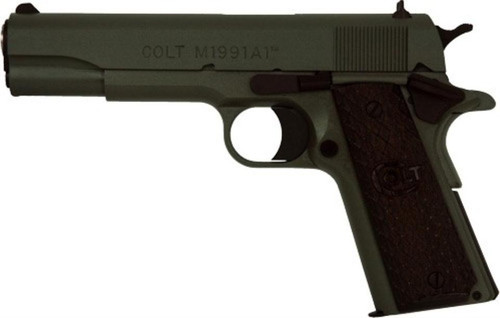 "Colt 1991 Custom Govt 45 ACP 5"" Barrrel Foliage Green Cerakote"