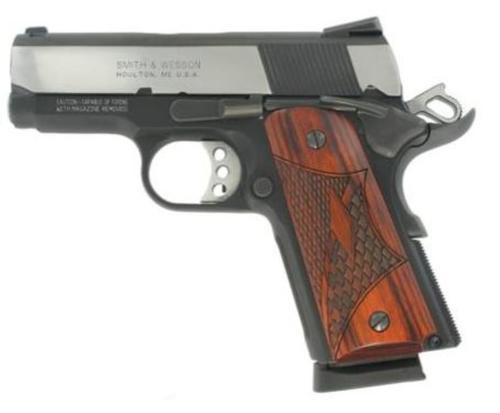 "Smith & Wesson SW1911 Pro 45 ACP, 3"", Two-Tone"