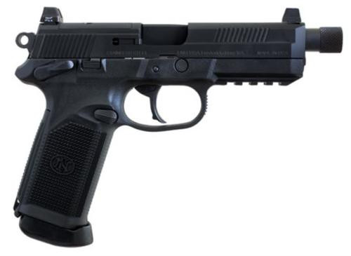 "FN FNX-45 Tactical, 45 ACP, 5.3"", 10rd, Black Stainless Steel"